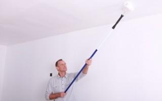 peindre un plafond