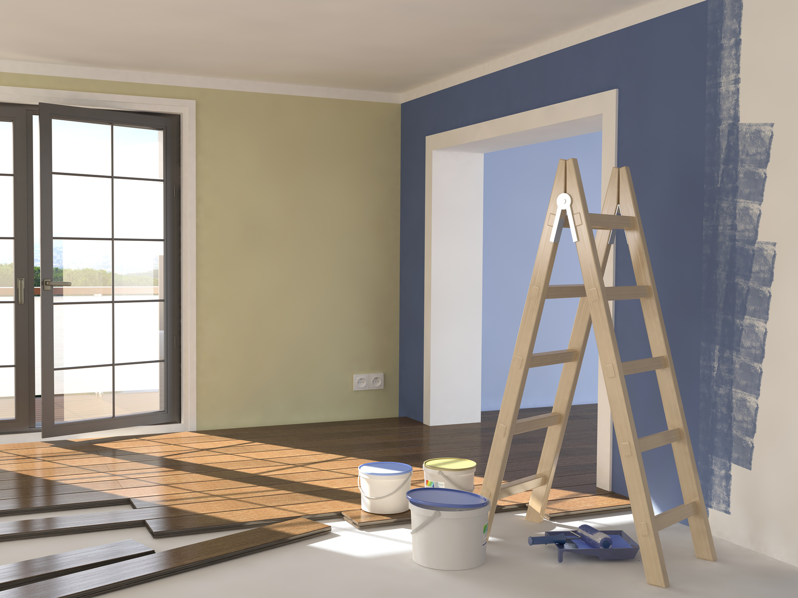 Réalisation de votre peinture d'intérieur