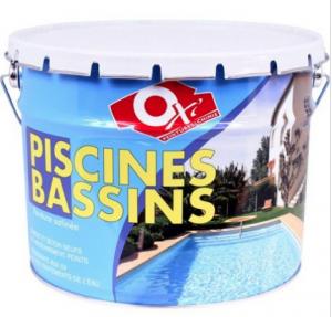 Peinture pour piscine bleu