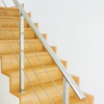 Escalier en bois que l'on peut peindre