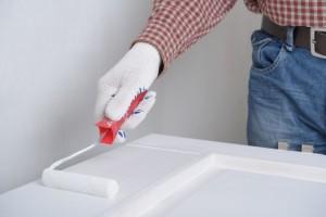 Peindre porte blanc