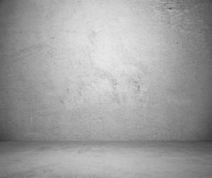 Mur réalisé avec de la peinture effet béton