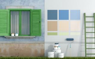 Peinture murs extérieurs