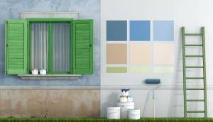 Peinture pour vos murs extérieurs