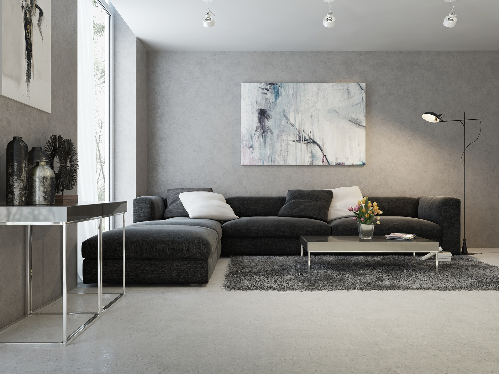 Peinture appartement design maison design for Peinture interieur tendance
