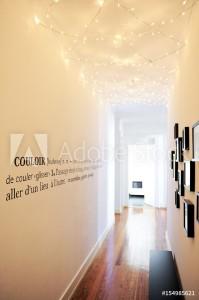 décoration de couloir