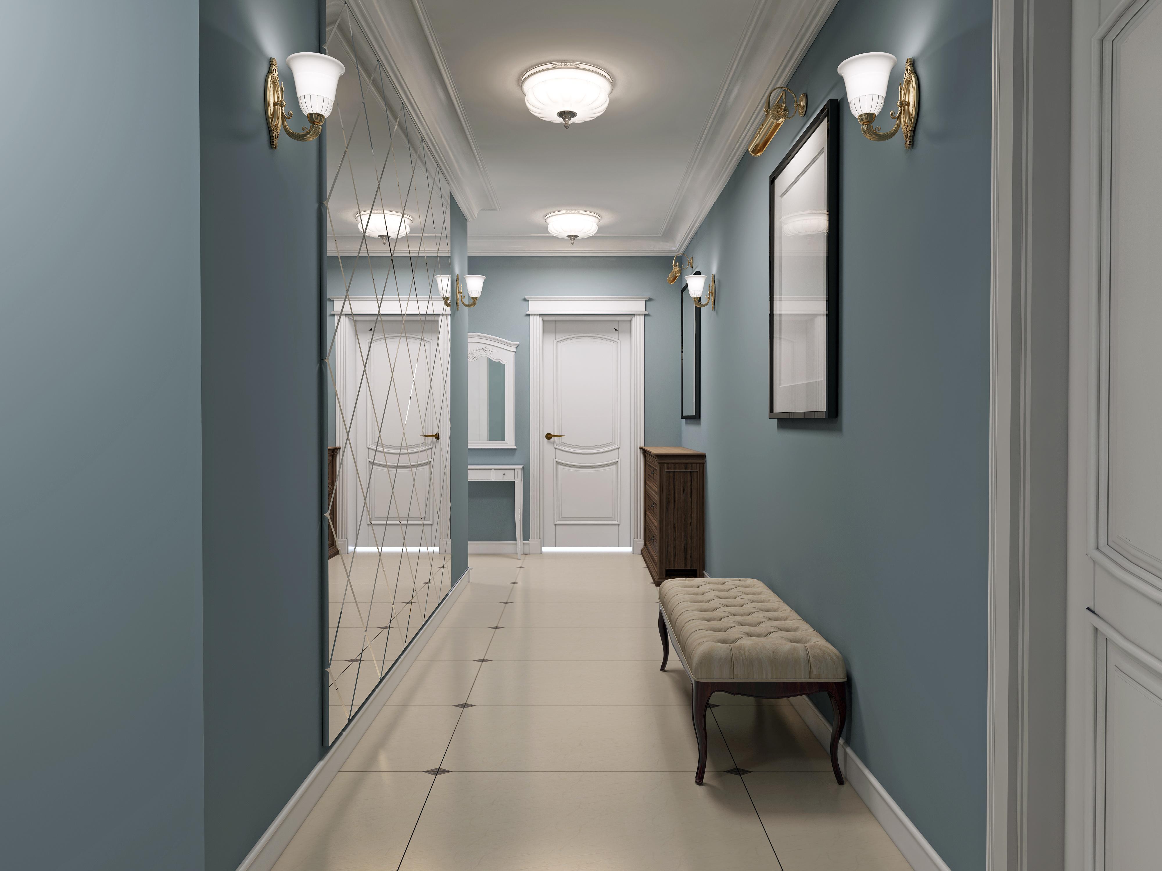 peinture couloir tous les conseils pour peindre un couloir. Black Bedroom Furniture Sets. Home Design Ideas