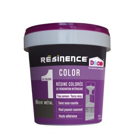 résine colorée