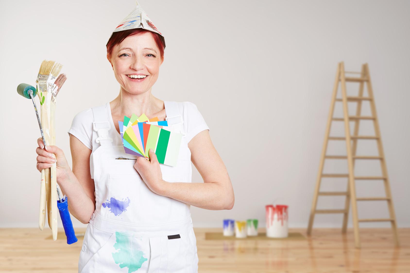 Conseil peinture les techniques pour peindre sans trace - Materiel pour peindre un mur ...