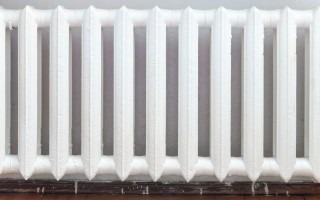 Peinture radiateur.
