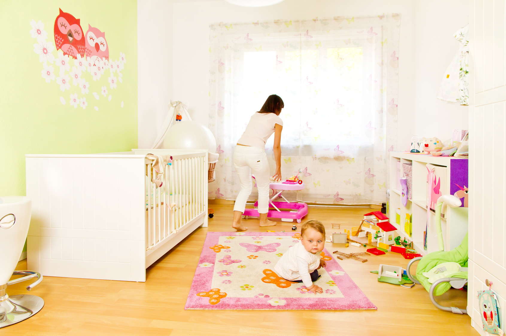 Simple Chambre De Naissance : Déco chambre bébé toutes les astuces pour peindre une