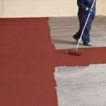 Pose peinture polyurethane