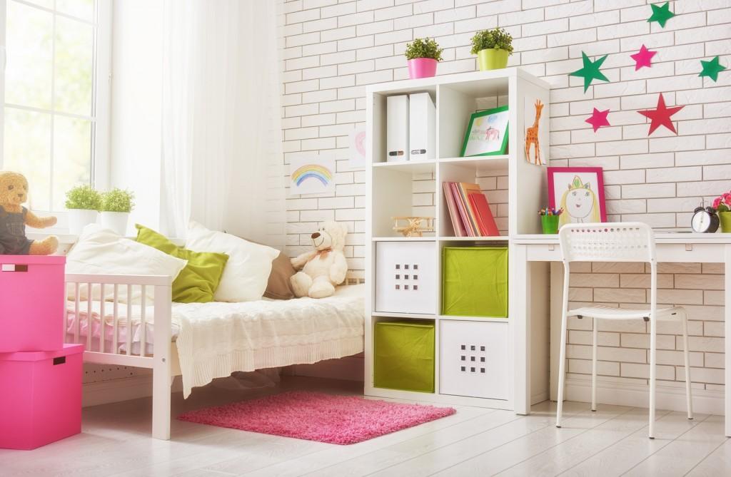 La décoration d\'une chambre d\'enfant