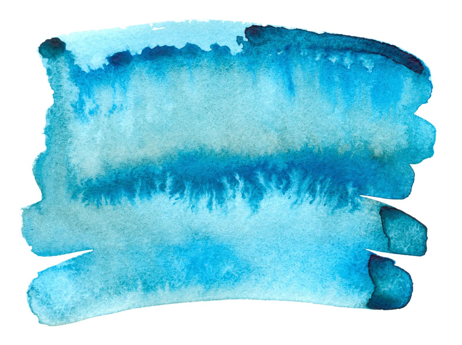 peinture effet bleu