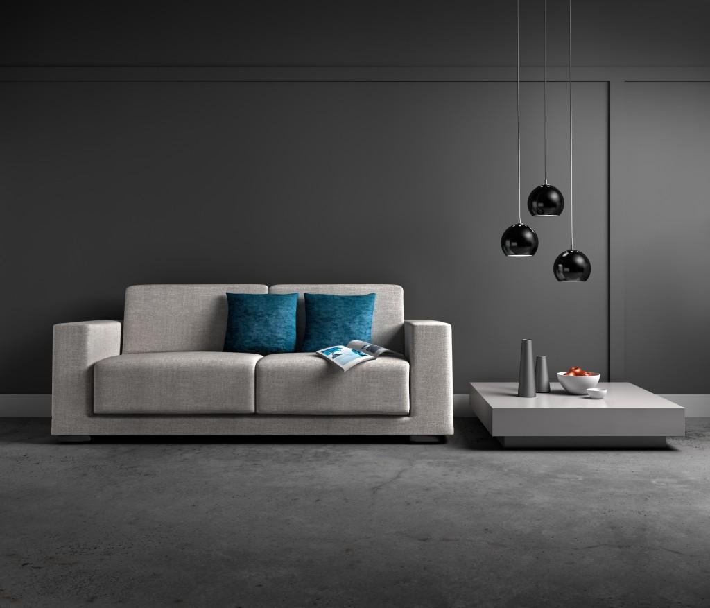 comment sublimer votre d co gr ce au gris anthracite. Black Bedroom Furniture Sets. Home Design Ideas