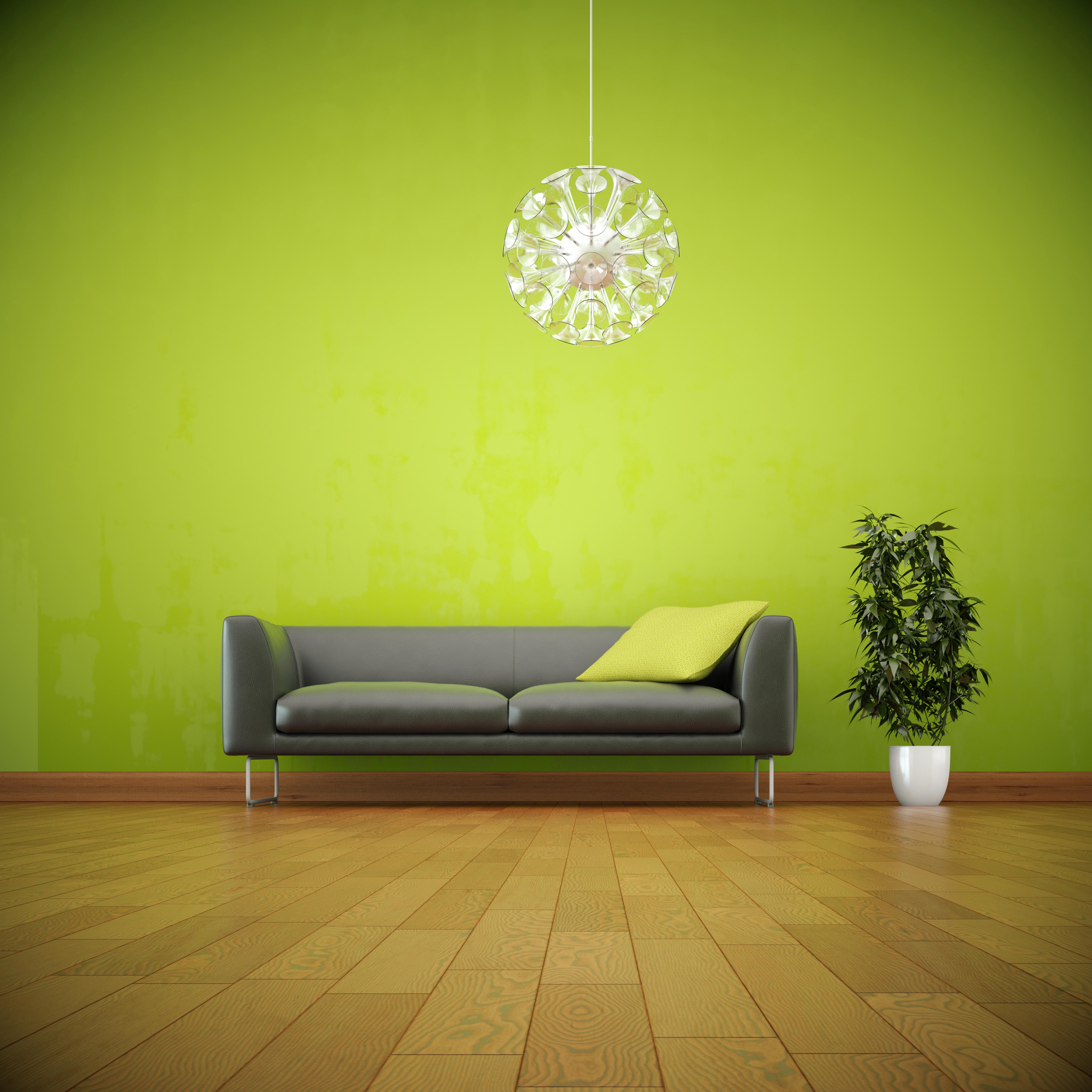 Décorer Ses Murs Avec Du Vert Anis