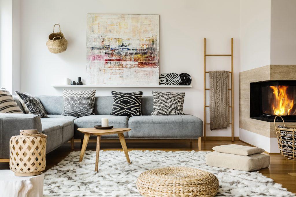 faire sa d coration avec du blanc cass. Black Bedroom Furniture Sets. Home Design Ideas