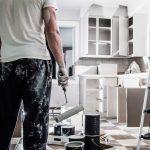 peinture dans cuisine