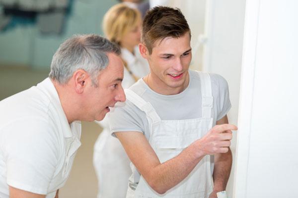 Peintres professionnels et artisans