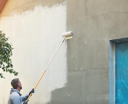 Quel est le prix d'une peinture en extérieur